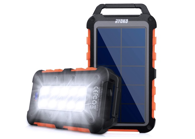 7. Solar Power Bank