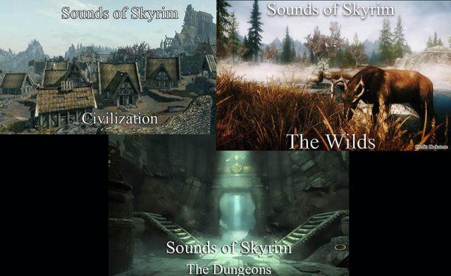 4. Sounds of Skyrim