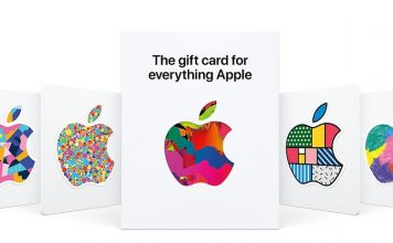 Apple universal gift card feat.