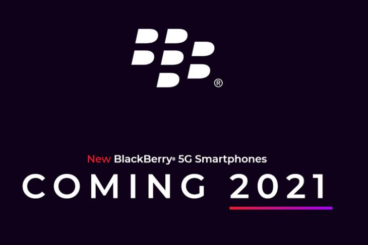 BlackBerry to Launch a 5G Android Smartphone with Physical Keyboard in 2021