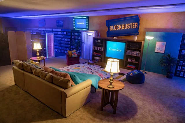 Blockbuster rent on Airbnb 1