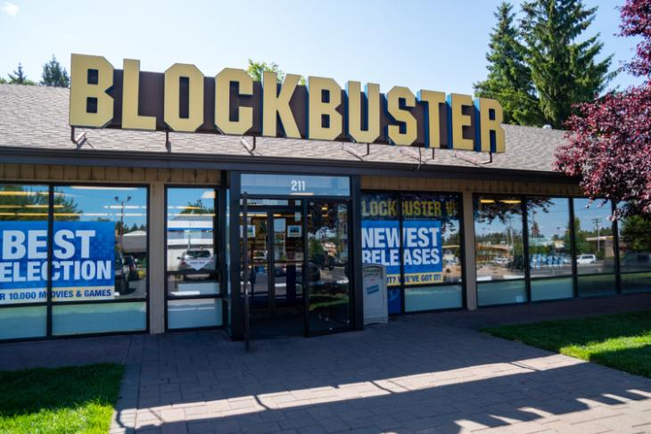 Blockbuster rent on Airbnb feat.