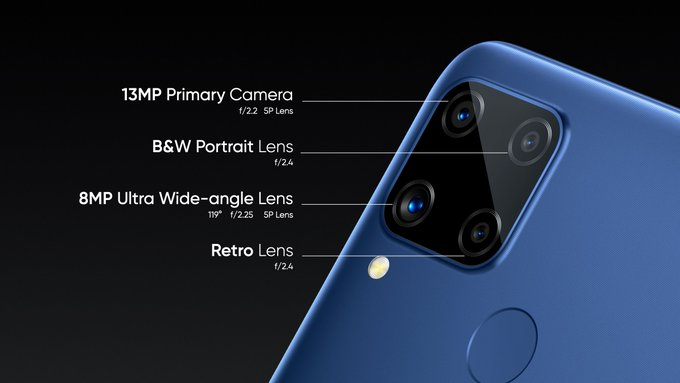 realme c15 camera