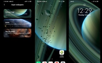How to Get Mi 10 Ultra's Saturn Super Wallpaper on Xiaomi Devices