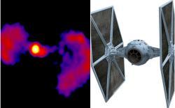 NASA star wars galaxy feat.