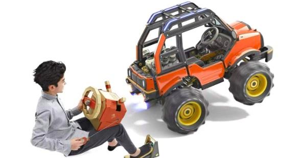 Nintendo Labo Toy-Con 03- Vehicle Kit