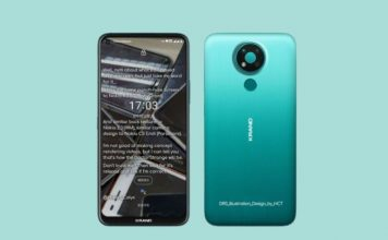 Nokia 3.4 render - specs and features