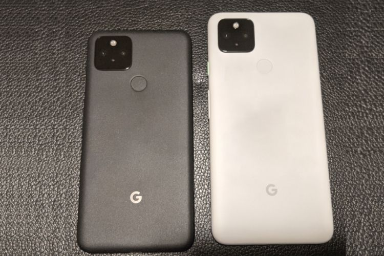 Pixel 5 and Pixel 4a leaked images