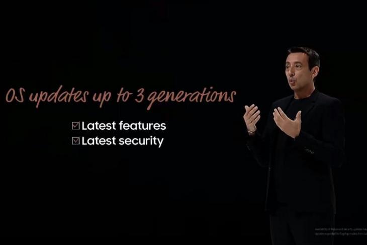 Samsung 3-year updates website