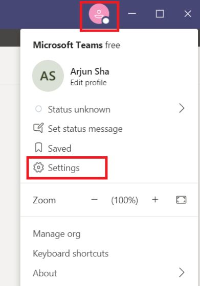 Enable Together Mode in Microsoft Teams