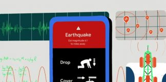 android earthquake detector