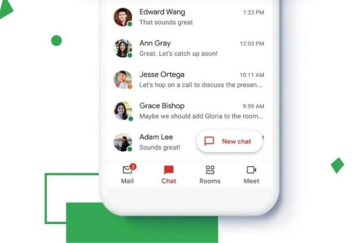 Gmail redesign with chat, rooms, and meet tabs is rolling out