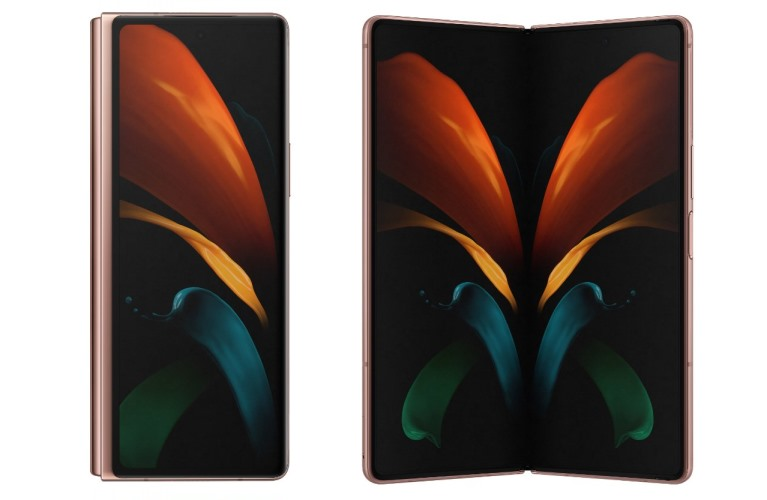 galaxy z fold 2 display