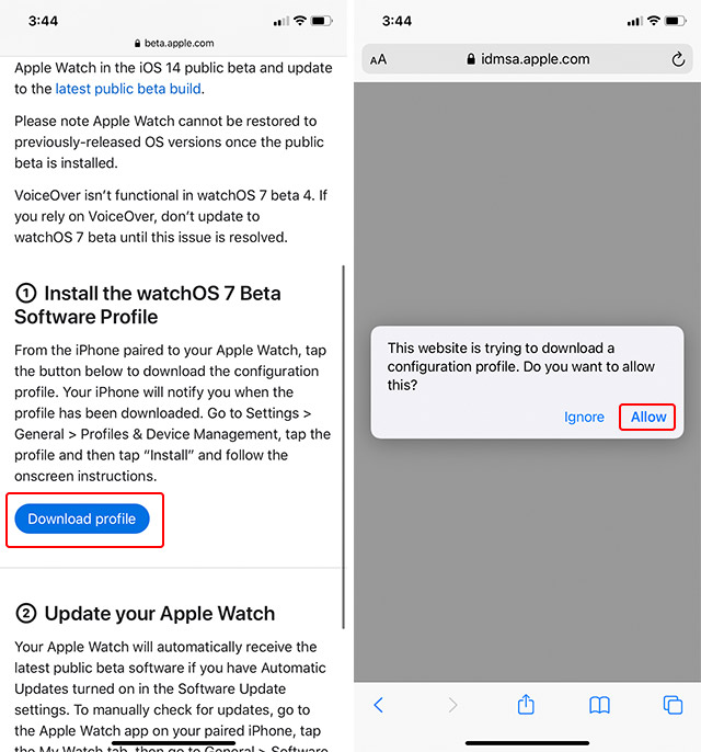 How to Install watchOS 7 Public Beta on Your Apple Watch