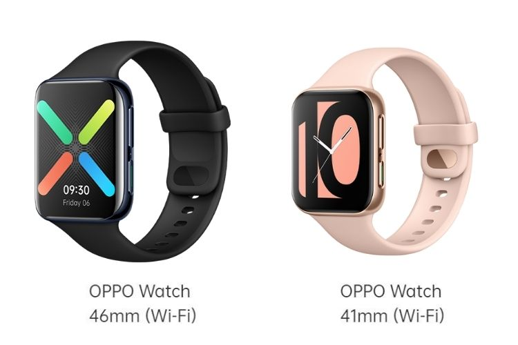 oppo watch - 46mm vs 41mm