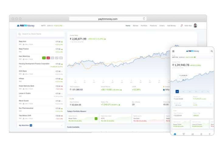 paytm money launches stock trading