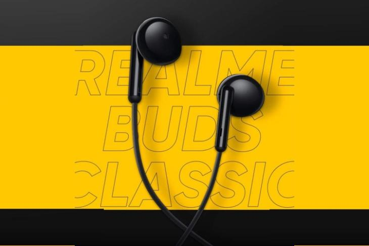 realme buds classic india launch