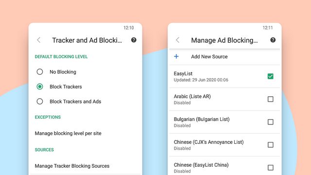 vivaldi ad block list