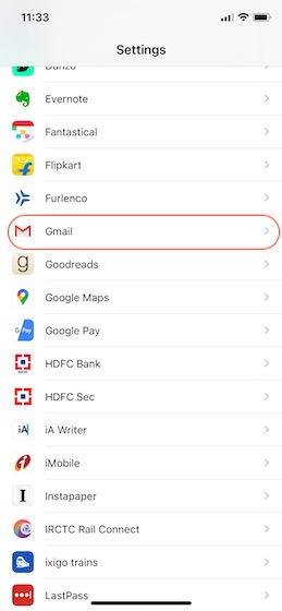 1. Set Gmail as Your Default Email on iPhone