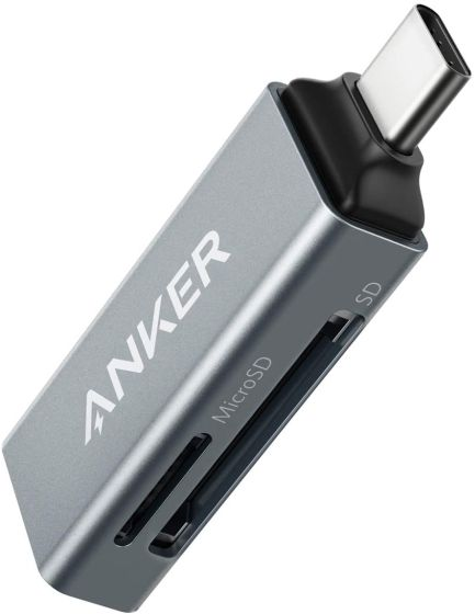13. Anker USB-C Card Reader Best iPad Air Accessories