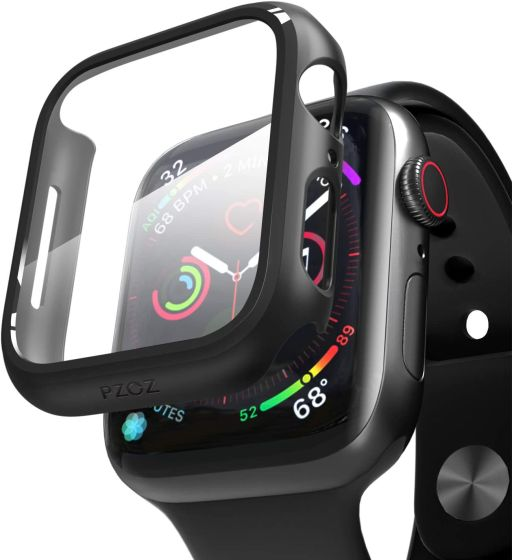 2. Pzoz Screen Protector for Apple Watch SE