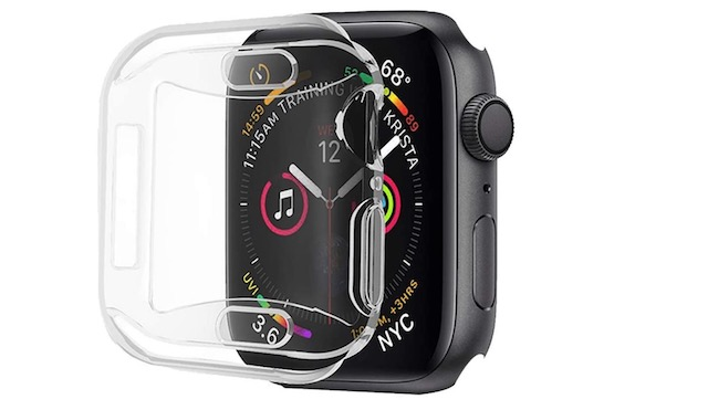 3. ALADRS Screen Protector Case for Apple Watch