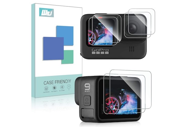 4. WRJ GoPro Hero 9 Black Screen Protector