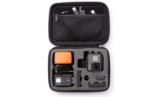5. AmazonBasics Small Carrying Case for GoPro