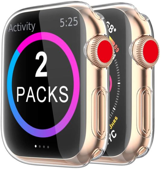5. BRG Cover Best Screen Protectors for Apple Watch SE