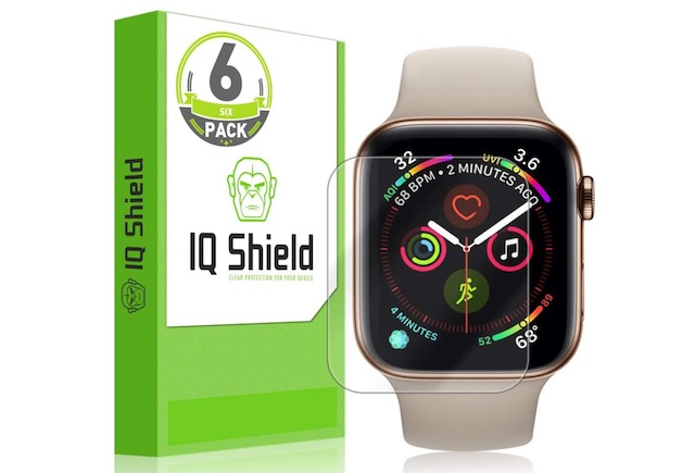 5. IQ Shield Screen Protector for Apple Watch Series 6