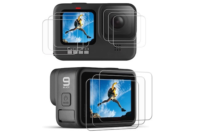 5. PCTC Screen Protector for GoPro Hero 9