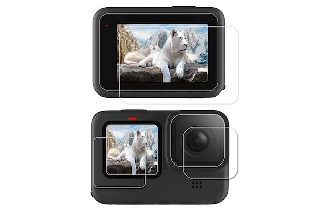 6 GEEMEE Screen Protector for GoPro Hero 9 Black