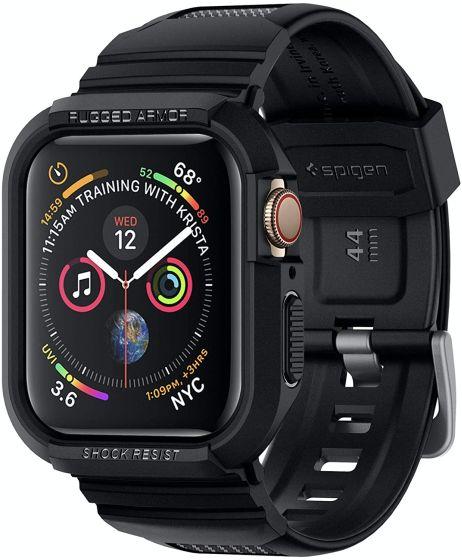 6. Spigen Rugged Armor Pro Best Screen Protectors for Apple Watch SE