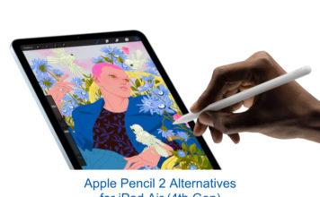 8 Best Apple Pencil 2 Alternatives for iPad Air (4th Gen)