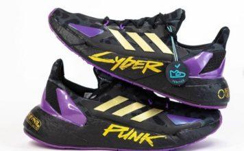 Adidas cyberpunk snearkers feat.