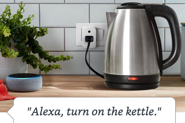 Amazon Smart Plug website
