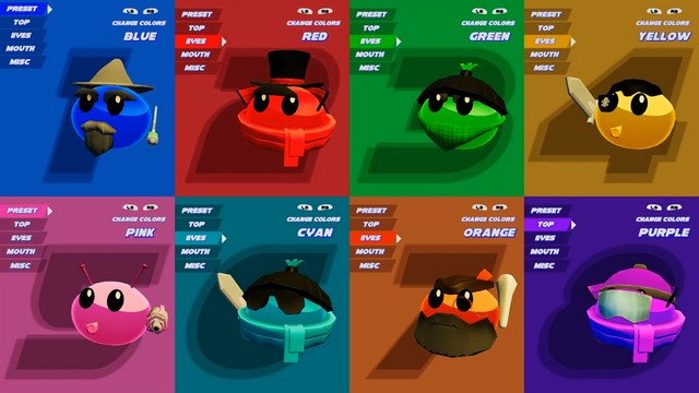 Blobs fight game 1