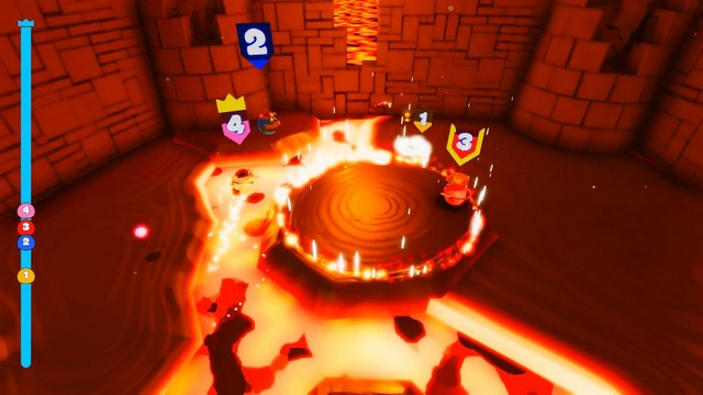 Blobs fight game 2