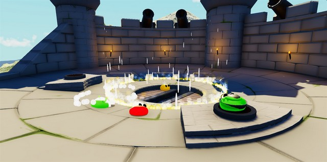 Blobs fight game 3