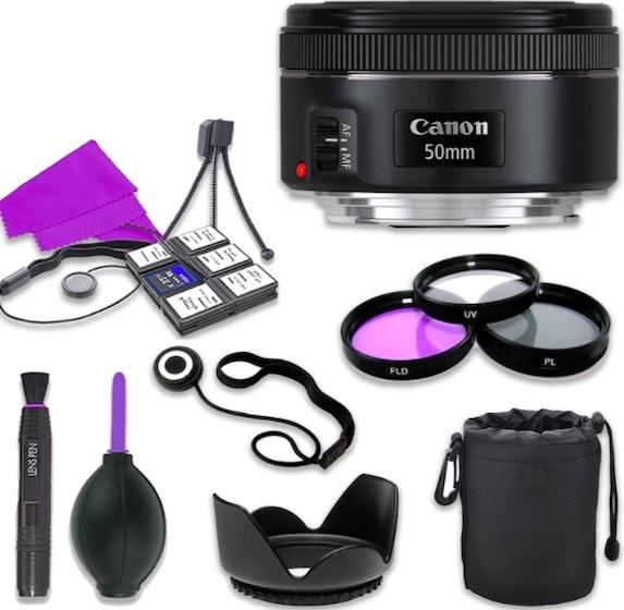 Canon EF 50mm f:1.8 STM Lens for Canon Digital SLR Cameras