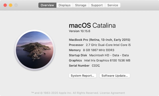 Check CPU Configuration of Mac 2