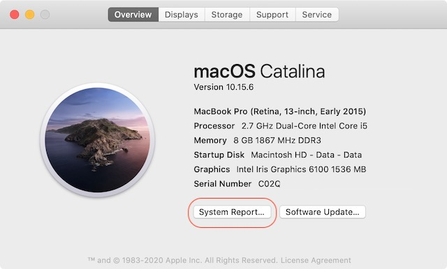 Check CPU Configuration of Mac 3