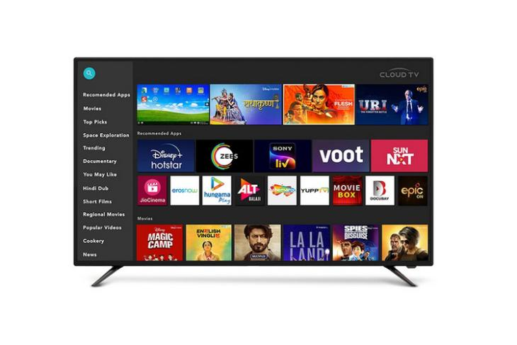 Cloud TV website