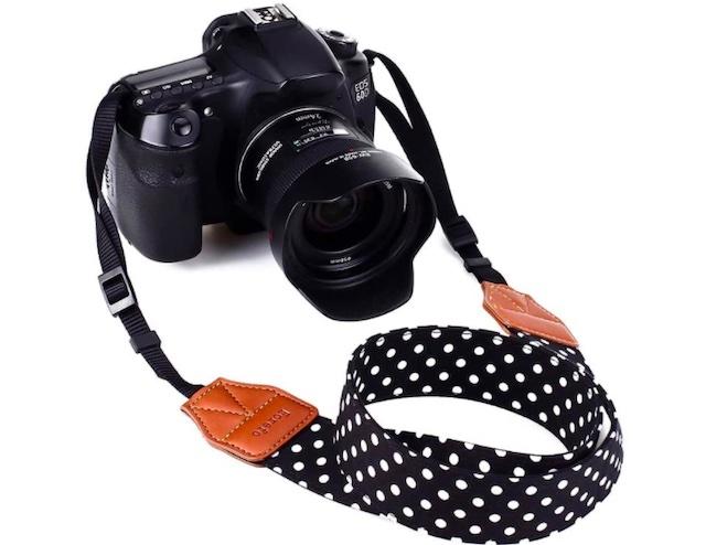 Eorefo Camera Strap Vintage Universal Shoulder Neck Belt Strap for All DSLR Camera