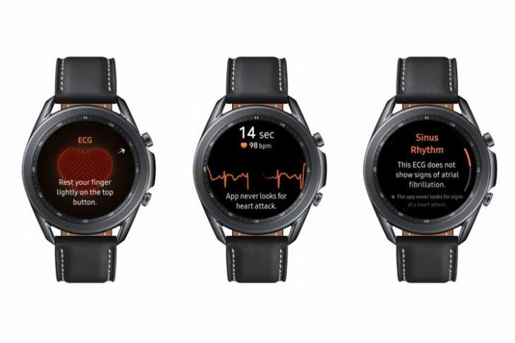 Galaxy Watch ECG website