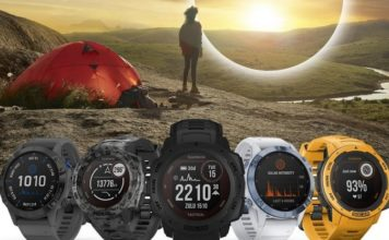 Garmin Instinct and Garmin Fenix 6 Pro