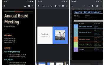 Google Docs, Sheets, and Slides Getting Dark Mode on iOS