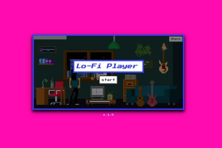 Google Lo-fi player feat.