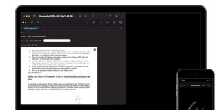 How to Use iPhone/iPad to Sign Email Attachment on Mac