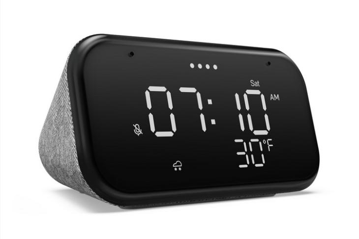 Lenovo smart clock essential feat.